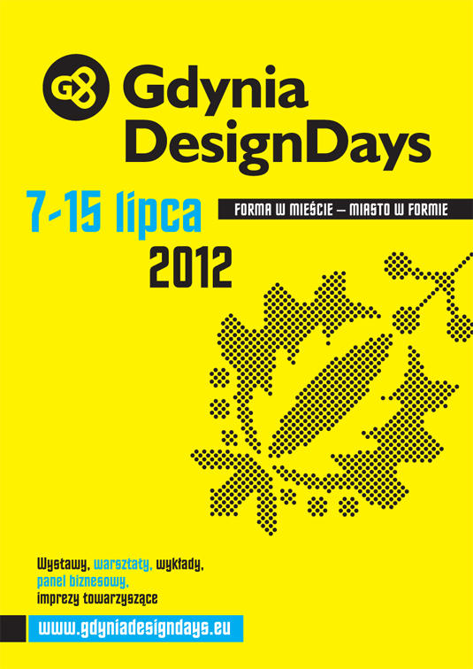 Plakat Gdynia Design Days 2012